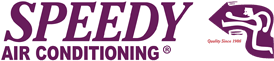 Speedy Air Conditioning Logo